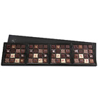 OBLONG FOUR-BOX SET OF PRALINES