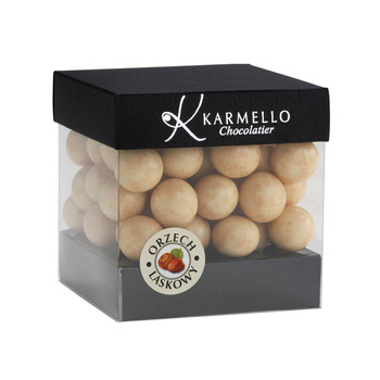 WHITE CHOCOLATE-COVERED HAZELNUTS