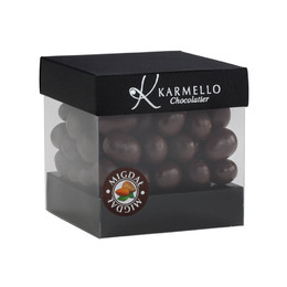 DARK CHOCOLATE-COVERED ALMONDS