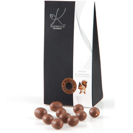 MILK CHOCOLATE-COVERED ALMONDS - BAG