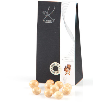 WHITE CHOCOLATE-COVERED HAZELNUTS - BAG