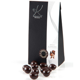 DARK CHOCOLATE-COVERED HAZELNUTS - BAG
