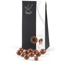 MILK CHOCOLATE-COVERED HAZELNUTS - BAG