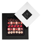 CHOCOLATE COLLECTION FOR MOM  IN A BOX WITH A WHITE LID AND FRAME