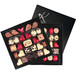 "DOUBLE BOX SET WITH CHOCOLATE ""I LOVE YOU"" ON THE OCCASION OF VALENTINE'S DAY"
