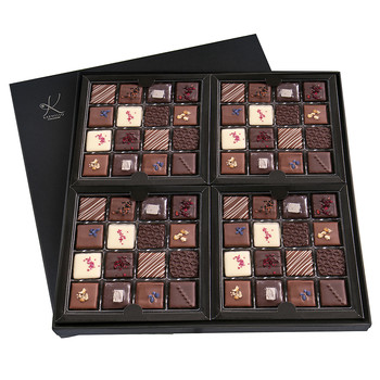 FOUR-BOX SET OF PRALINES